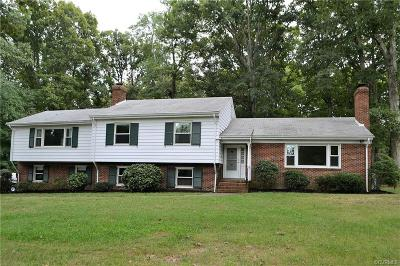Chesterfield VA Single Family Home For Sale: $274,950