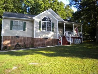 Dinwiddie Single Family Home For Sale: 3725 West Autumn Drive