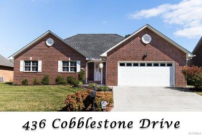 Hopewell Single Family Home For Sale: 436 Cobblestone Drive
