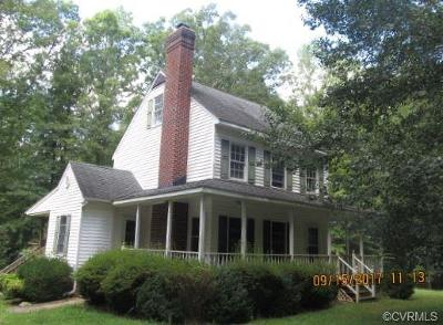 Goochland Single Family Home For Sale: 2366 Maidens Road