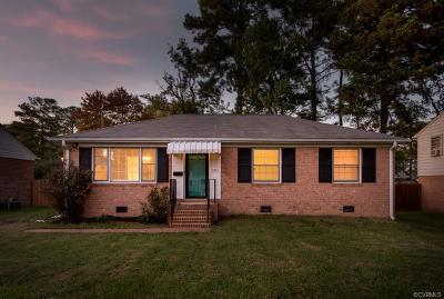 Henrico Single Family Home For Sale: 2910 Overton Road