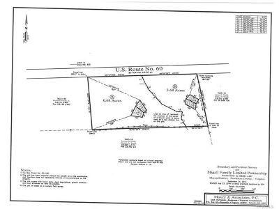 Powhatan Residential Lots & Land For Sale: Route 60