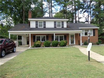 Hopewell VA Single Family Home For Sale: $169,000