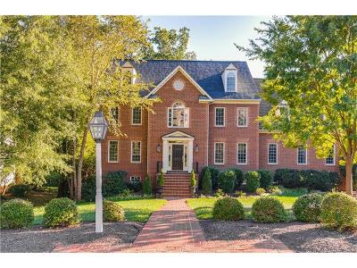 Henrico County Single Family Home For Sale: 9829 Colony Bluff Drive