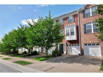 Hanover County Condo/Townhouse For Sale: 8049 Belton Circle #8049