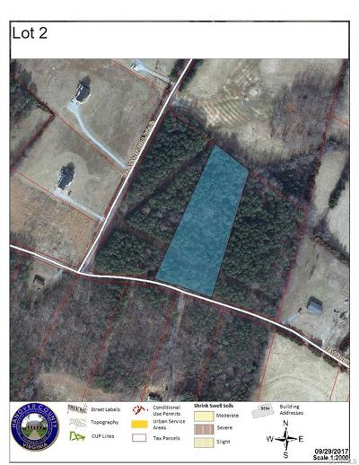 Hanover County Residential Lots & Land For Sale: Lot 2 Mabelton Road