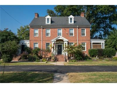 Richmond Single Family Home For Sale: 3820 Chamberlayne Avenue