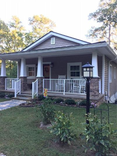 Colonial Heights Single Family Home For Sale: 122 Swift Creek Lane