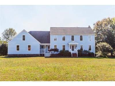 Mechanicsville Single Family Home For Sale: 1675 Old Church Road