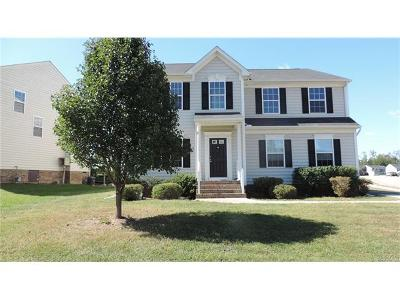 Chesterfield VA Single Family Home For Sale: $389,000
