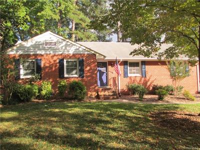 Henrico Single Family Home For Sale: 8203 Colebrook Road