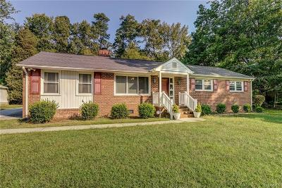 Petersburg Single Family Home For Sale: 231 Seyler Drive
