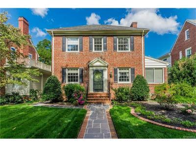 Richmond Single Family Home For Sale: 4312 Kensington Avenue