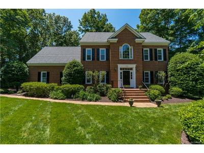 Henrico Single Family Home For Sale: 3100 Chestnut Grove Court