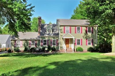 Henrico Single Family Home For Sale: 10600 Cloister Drive