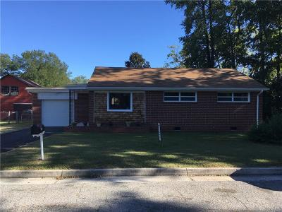 Hopewell Single Family Home For Sale: 3106 Maple Street