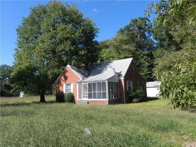 Richmond Single Family Home For Sale: 5138 New Market Road