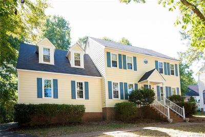 Henrico Single Family Home For Sale: 10203 Meadbrook Court