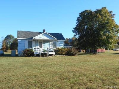 Farmville Single Family Home For Sale: 411 Allen Farm