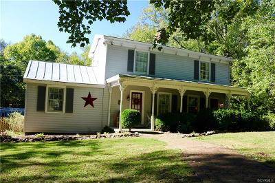 Hanover County Single Family Home For Sale: 16155 Woodman Hall Road