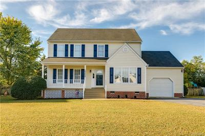 Mechanicsville Single Family Home For Sale: 8468 Old Cavalry Drive