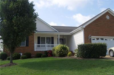 Prince George VA Single Family Home For Sale: $248,500
