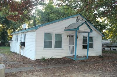 Chesterfield County Rental For Rent: 10124 Brightwood Avenue
