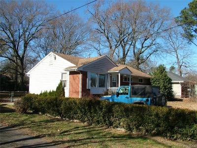Petersburg Single Family Home For Sale: 2534 Crestwood Avenue