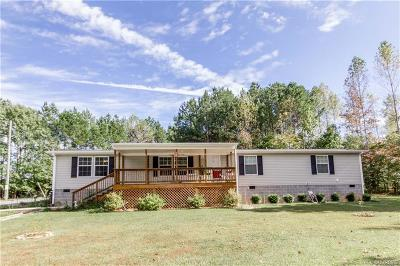 Dinwiddie Single Family Home For Sale: 9901 Scotts Road