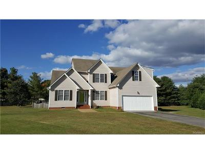 Mechanicsville Single Family Home For Sale: 8055 Redvine Lane