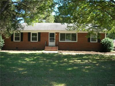 Midlothian Single Family Home For Sale: 4421 Stigall Drive