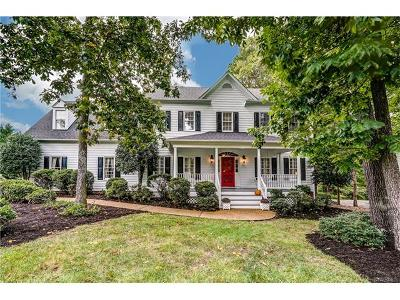 Henrico Single Family Home For Sale: 12309 Pleasant Lake Terrace