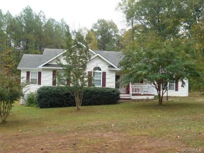 Farmville Single Family Home For Sale: 678 Old Ridge Road