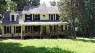 Hanover County Rental For Rent: 17341 Level Drive