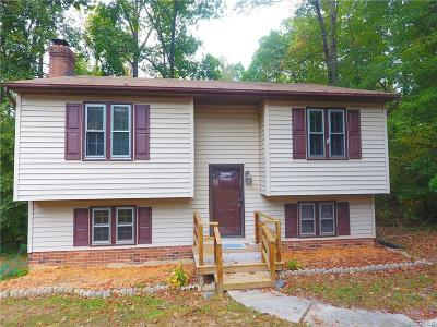 Chesterfield VA Single Family Home For Sale: $173,500