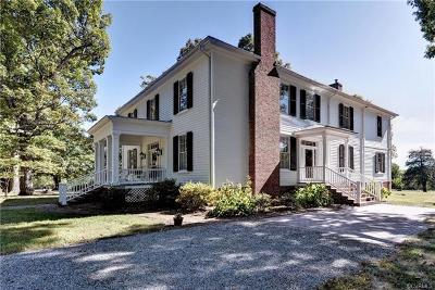 Drakes Branch VA Single Family Home For Sale: $773,000