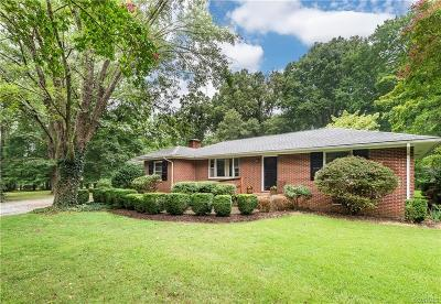 Henrico Single Family Home For Sale: 7840 Wilton Road