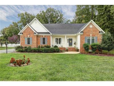 Hanover County Single Family Home For Sale: 8801 Hughesland Road