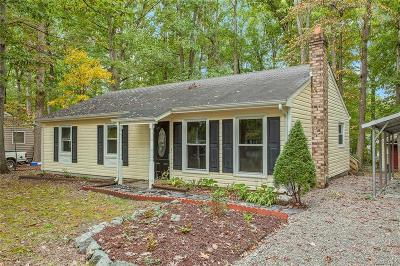 Chesterfield VA Single Family Home For Sale: $152,000