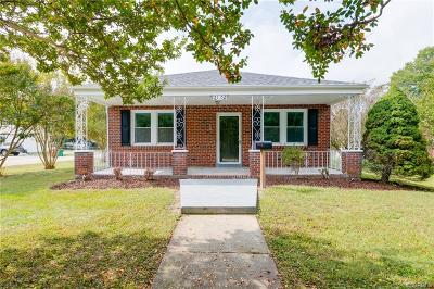 Colonial Heights VA Single Family Home For Sale: $133,500