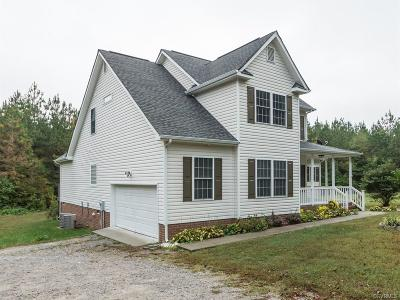 Dinwiddie VA Single Family Home For Sale: $249,900