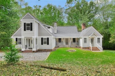 Powhatan Single Family Home For Sale: 3939 Old River Trail