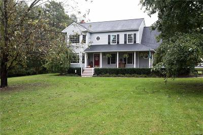 Hanover County Single Family Home For Sale: 17456 Circuit Rider Drive