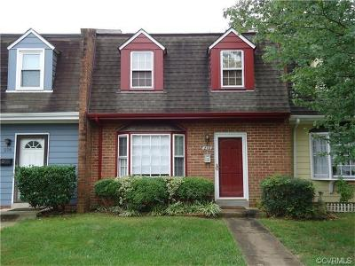 Chesterfield County Rental For Rent: 218 Newstead Drive