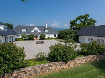 Free Union VA Single Family Home For Sale: $4,950,000