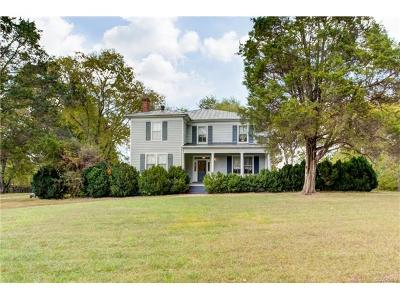 Goochland County Single Family Home For Sale: 3048 River Road