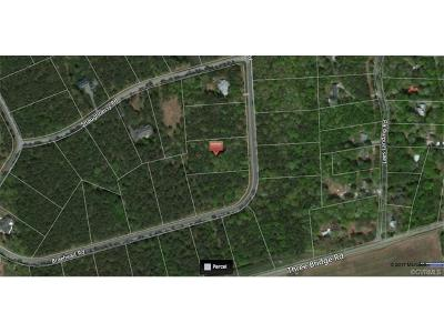 Powhatan County Residential Lots & Land For Sale: 3081 Braehead Road