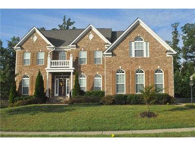 Chesterfield VA Single Family Home For Sale: $529,000