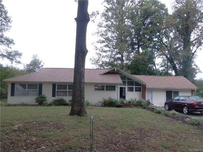 Henrico VA Single Family Home For Sale: $175,000