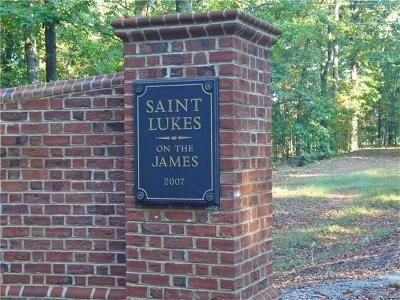 Powhatan County Residential Lots & Land For Sale: 3240 Saint Lukes Place